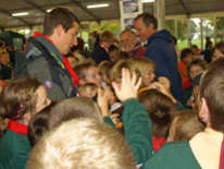 Chief Scout visits Kent