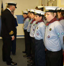 Sea Scouts retain RN recognition
